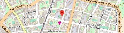 Hornos Rico Pan en el mapa