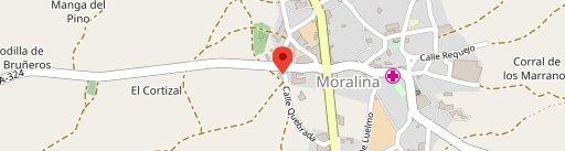 Hotel Rural & Restaurante Los Arribes en el mapa