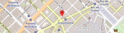 Hula Poke Food - URQUINAONA en el mapa