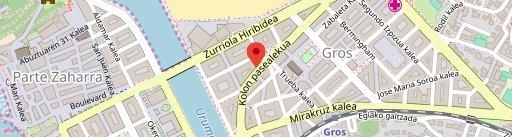 Restaurante Ikaitz en el mapa