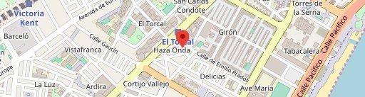 Confiteria Inma en el mapa