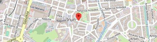 Irungo Atsegiña en el mapa