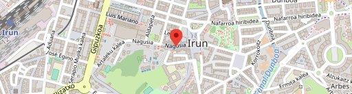 Bar Restaurante Izartxo en el mapa