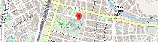 Restaurant Xinès Jardí en el mapa