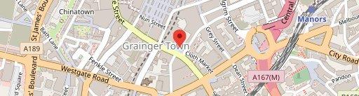 Kafeneon on map