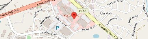 Kalapaki Joe's en el mapa