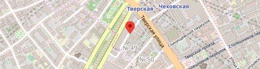 Хачапури Тверская на карте