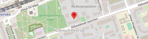 Kitchen on map
