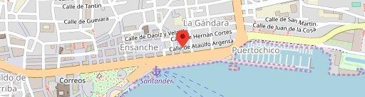 KOKORO - SANTANDER- Cocina Con Corazón on map