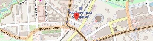 Круассан-кафе en el mapa