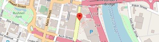 L Bar on map