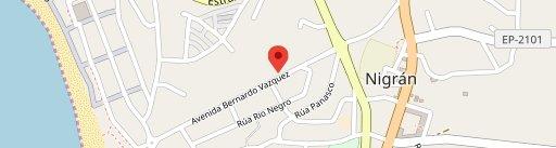 Restaurante La Abadia en el mapa