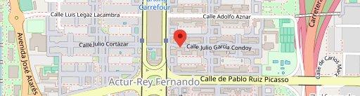 Restaurante Cafetería La Borda en el mapa