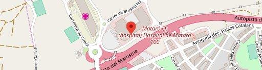 La Burguesa Mataró Parc en el mapa