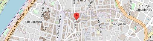 Bar La Cantina en el mapa