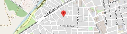 Casa Pintiño en el mapa