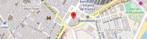 Can Paixano (La Xampanyeria) en el mapa