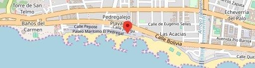 Hotel La Chancla on map
