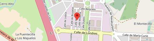La Churrería de Tía Mercedes en el mapa