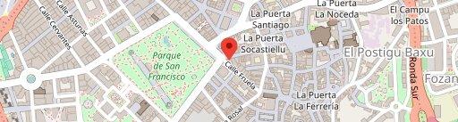 La Corte de Pelayo на карте