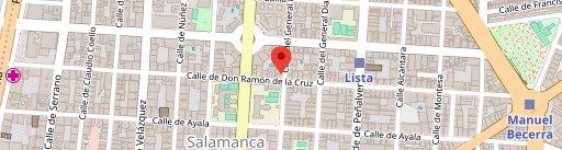 ASADOR LA COSTA NAVARRA en el mapa