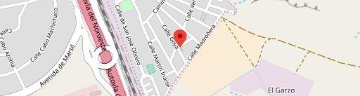 Pizzería La Cúpula en el mapa