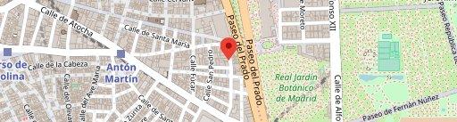 La Enriquetta en el mapa
