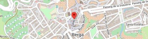 Fonda de la Bruixa en el mapa