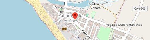La Fresquita de Perea en el mapa