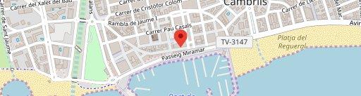 La Galera Port Cambrils en el mapa