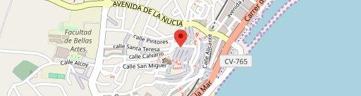 La Gioconda en el mapa