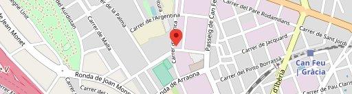 La Graella en el mapa