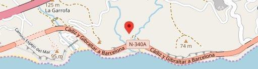 Restaurante Asador la Gruta en el mapa