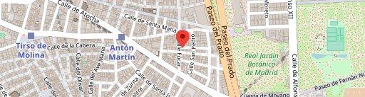 La Malontina (antigua Tragantúa) en el mapa