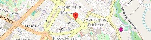 La Marina Cafe Bar Restaurante Cáceres en el mapa