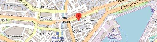 Restaurante La Ménsula II en el mapa