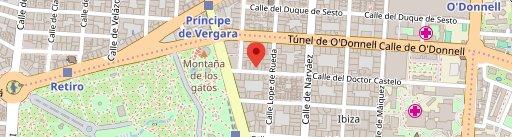 La Monte на карте