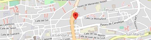 Restaurante La Mulata en el mapa