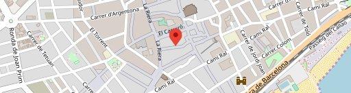 La Pentola en el mapa