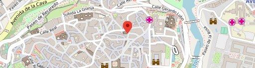 Cafetería La Pepa en el mapa