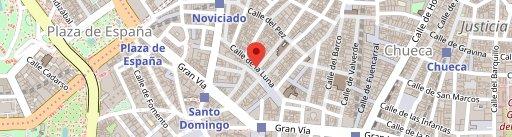 La Rayua Gran Vía en el mapa