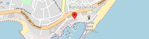Restaurante La Taberna De Lucia III en el mapa
