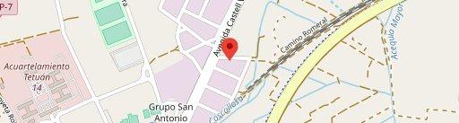 La Tagliatella en el mapa
