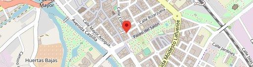Restaurante La Tasca en el mapa