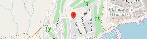 La Terraza en el mapa