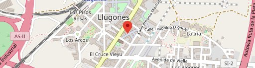Parrilla Sidreria El Casín en el mapa