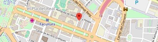 La Universidad en el mapa