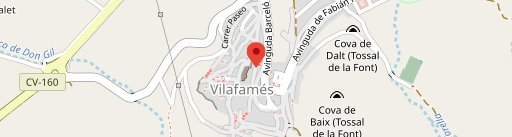 La Vinya en el mapa