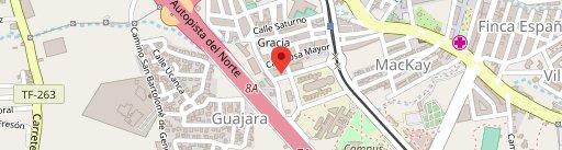 Cerveceria Lagunita Country en el mapa