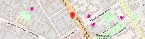 Лапша и Уши on map